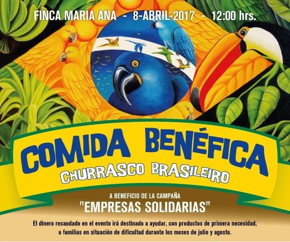 Comida Brasileña para el Proyecto Empresas Solidarias