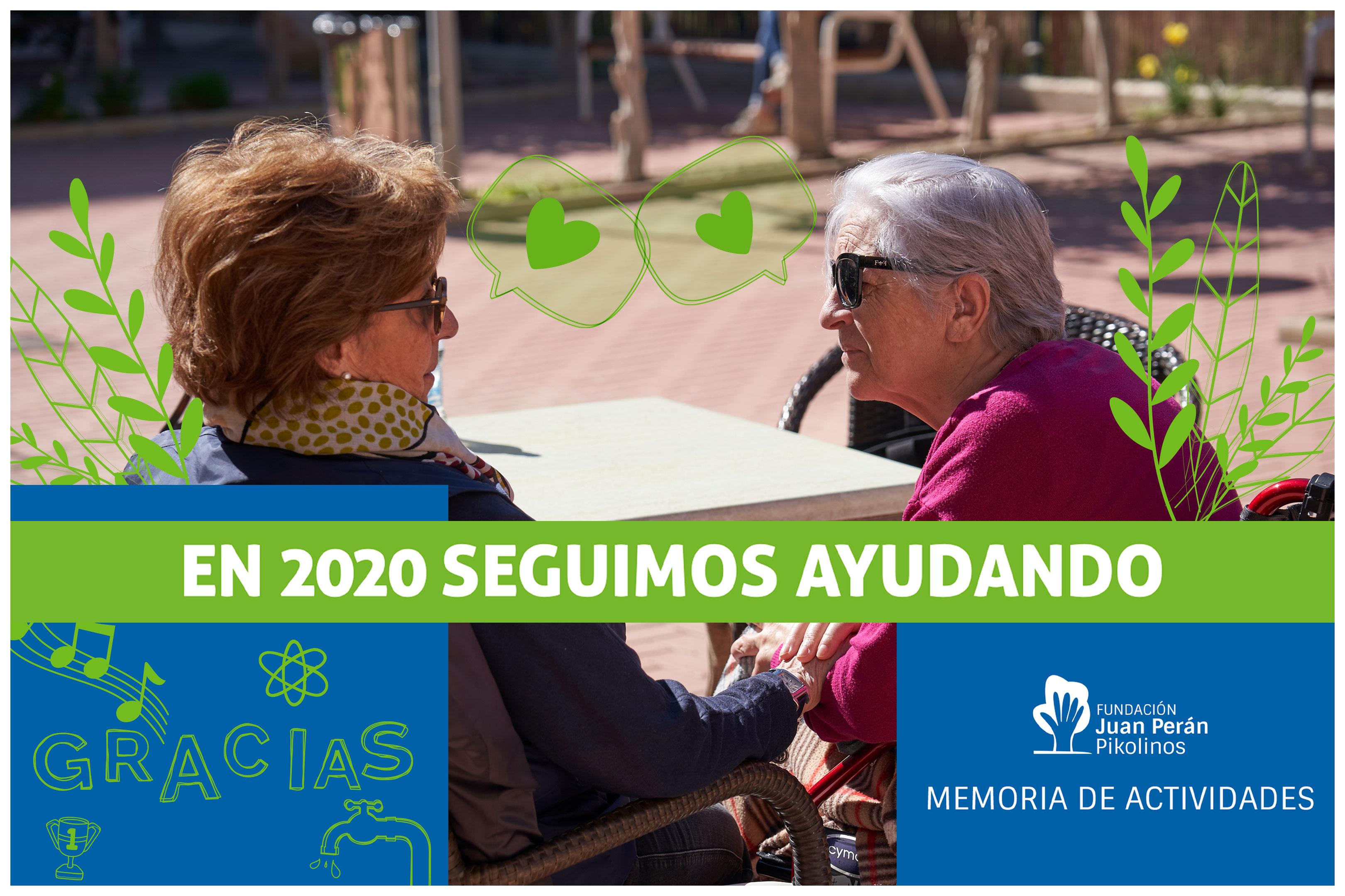 Descubre nuestra memoria del 2020