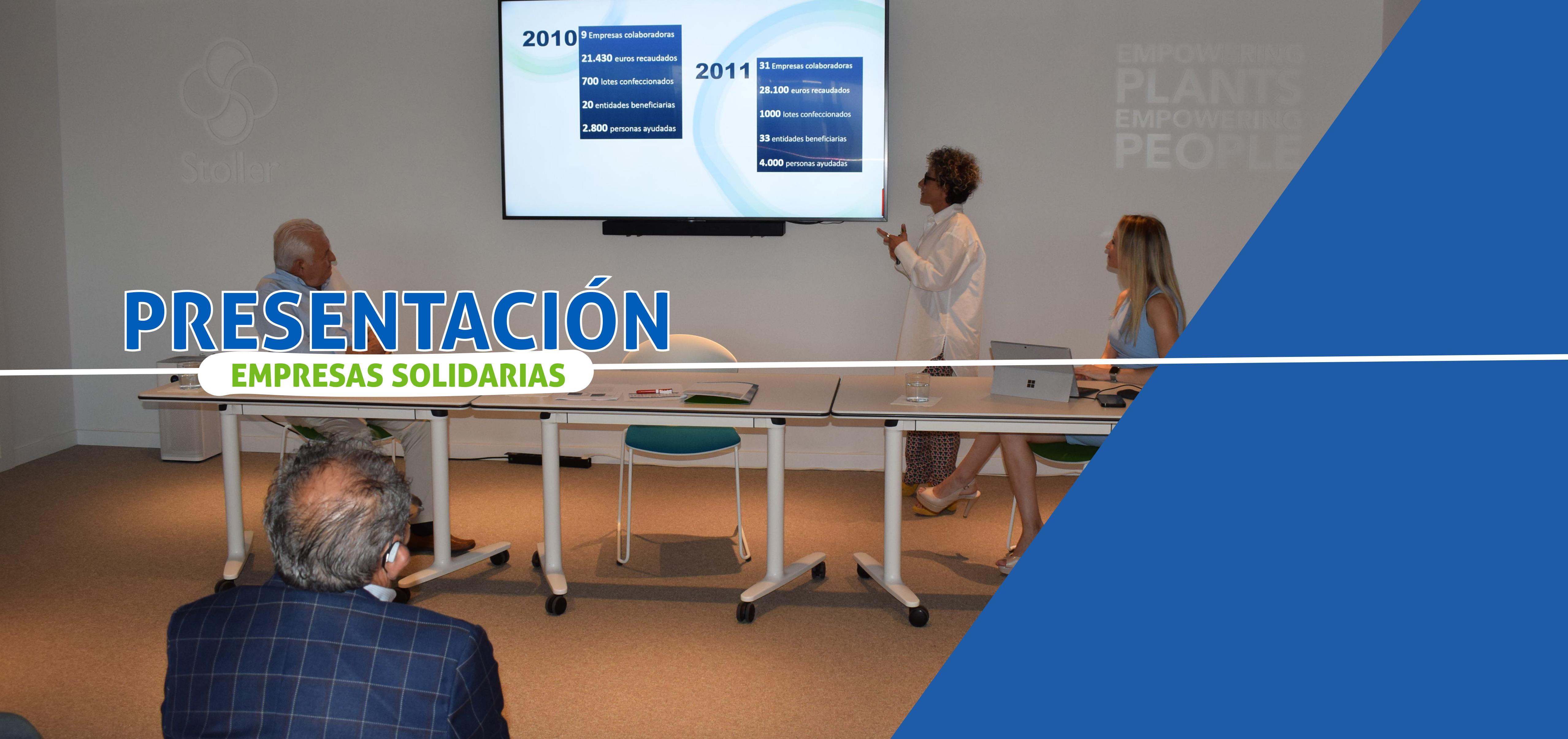 Presentación del proyecto Empresas Solidarias